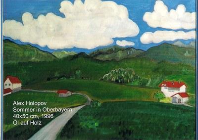 Sommer in Oberbayern