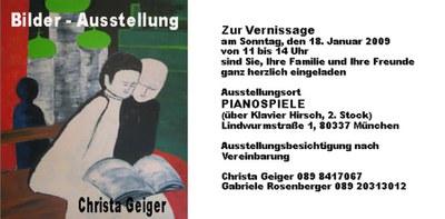 Ausstellung Geiger